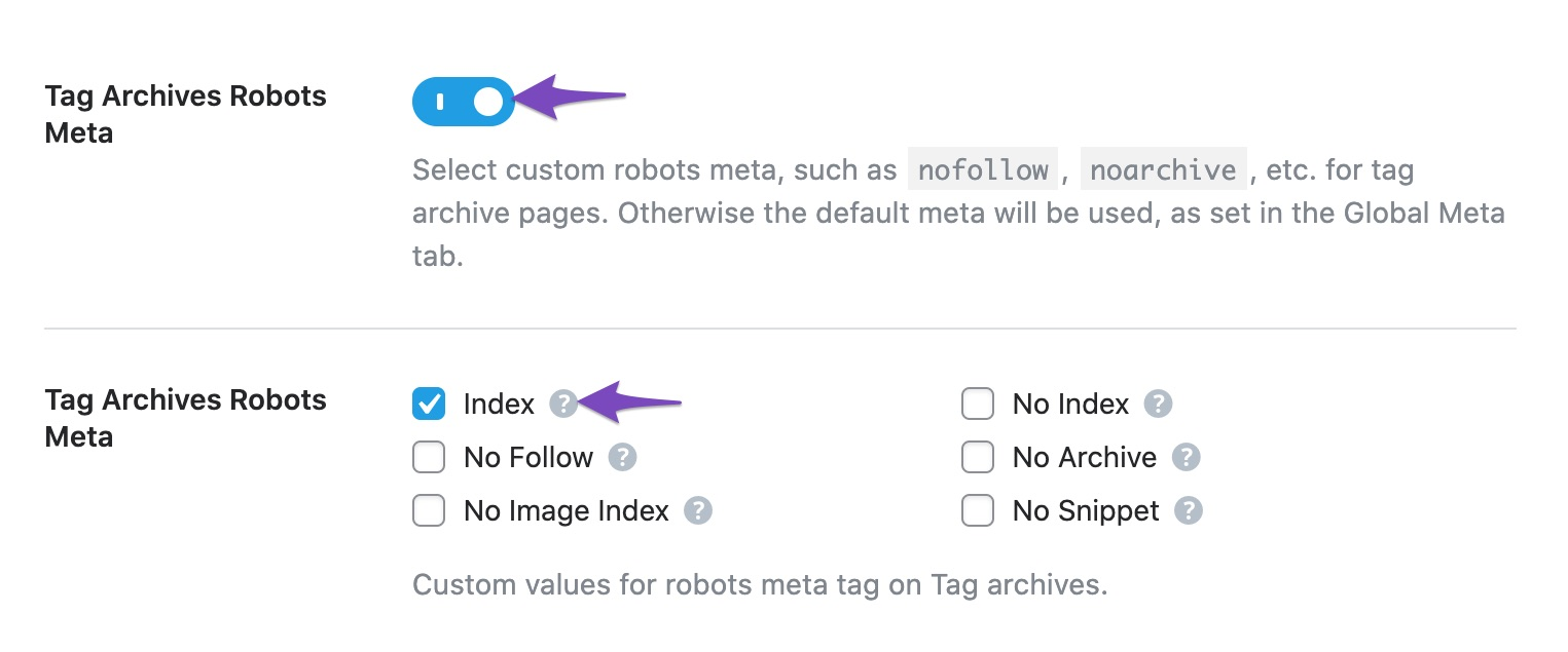 Set Index for Tag Archives Robots Meta